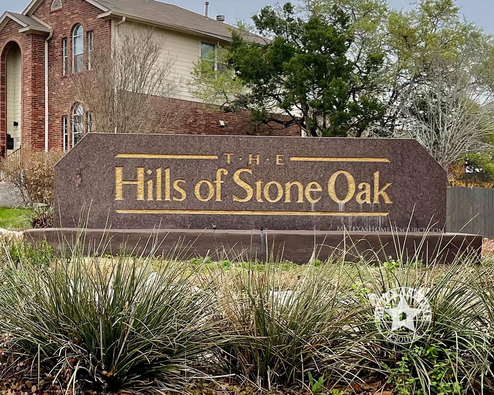 Hills of Stone Oak Community San Antonio, TX