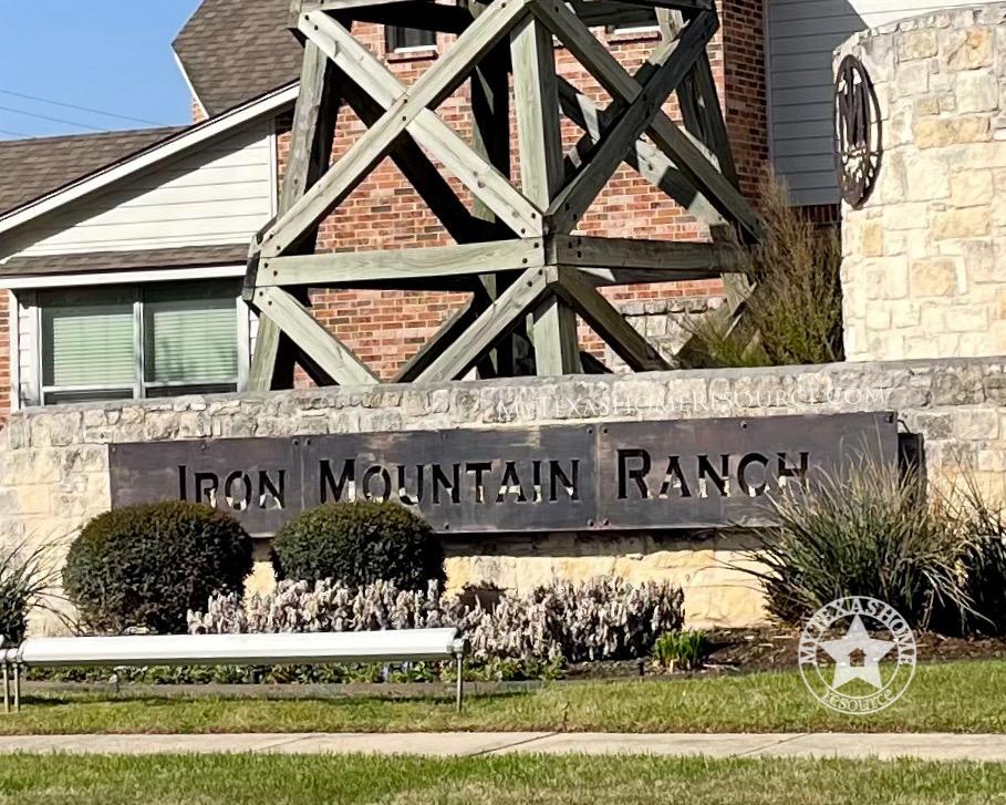 Iron Mountain Ranch Community San Antonio, TX