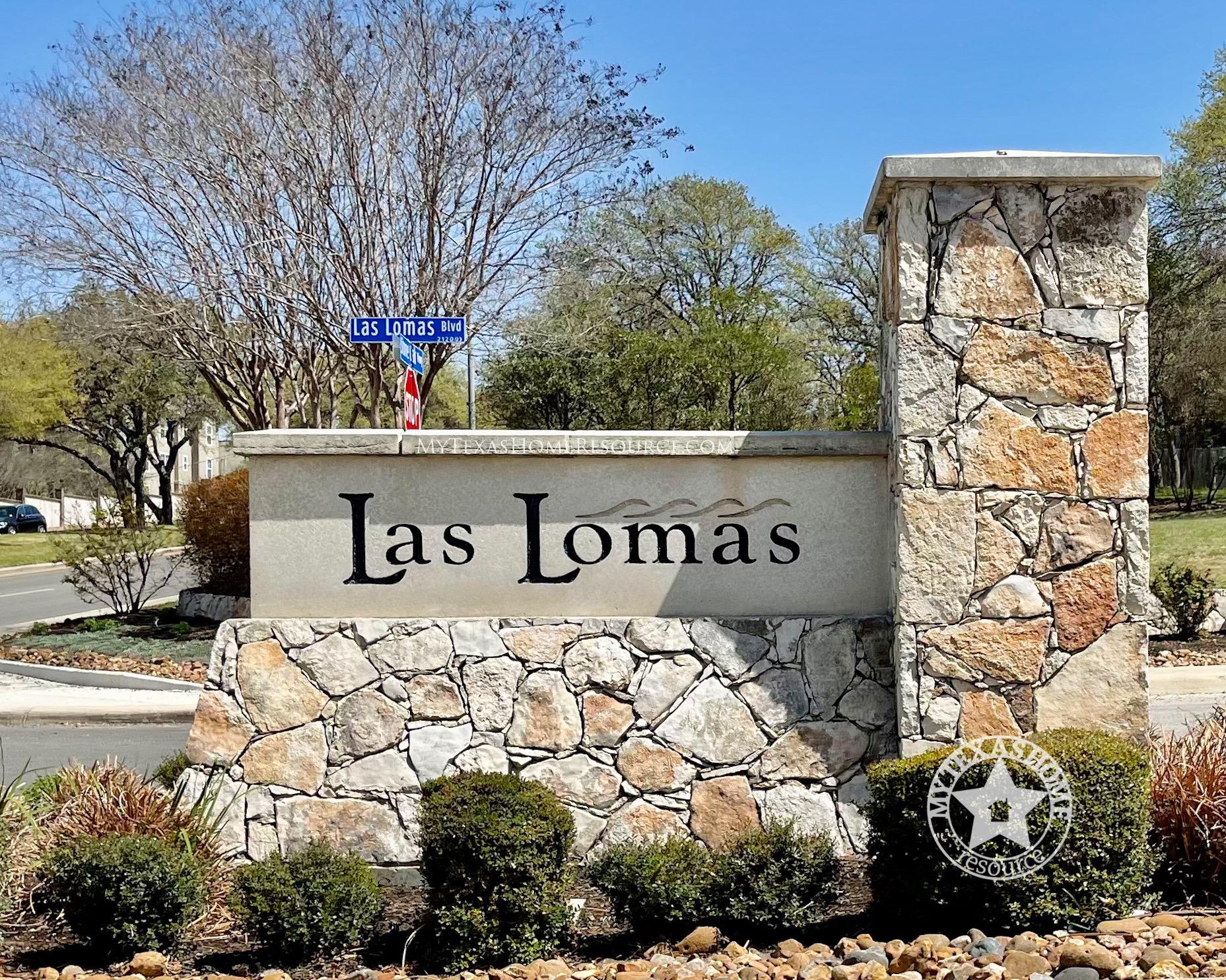 Las Lomas Community San Antonio, TX