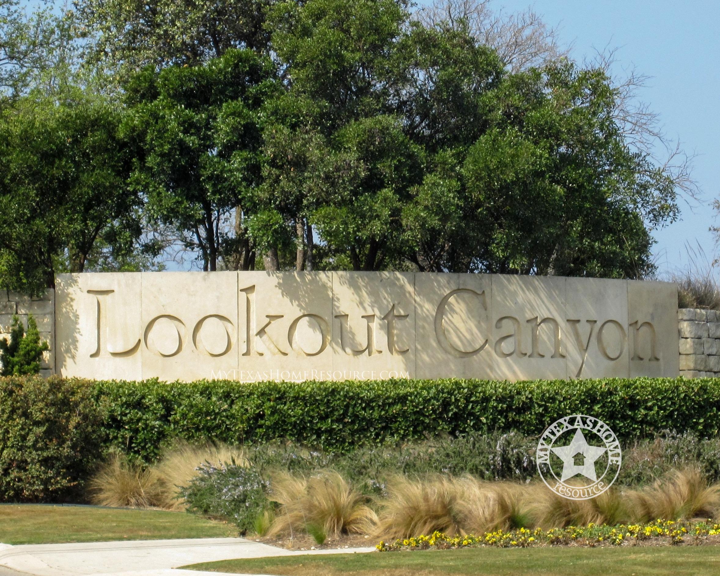 Lookout Canyon Community San Antonio, TX