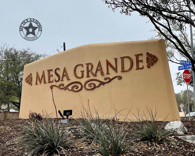 Mesa Grande Community San Antonio, TX