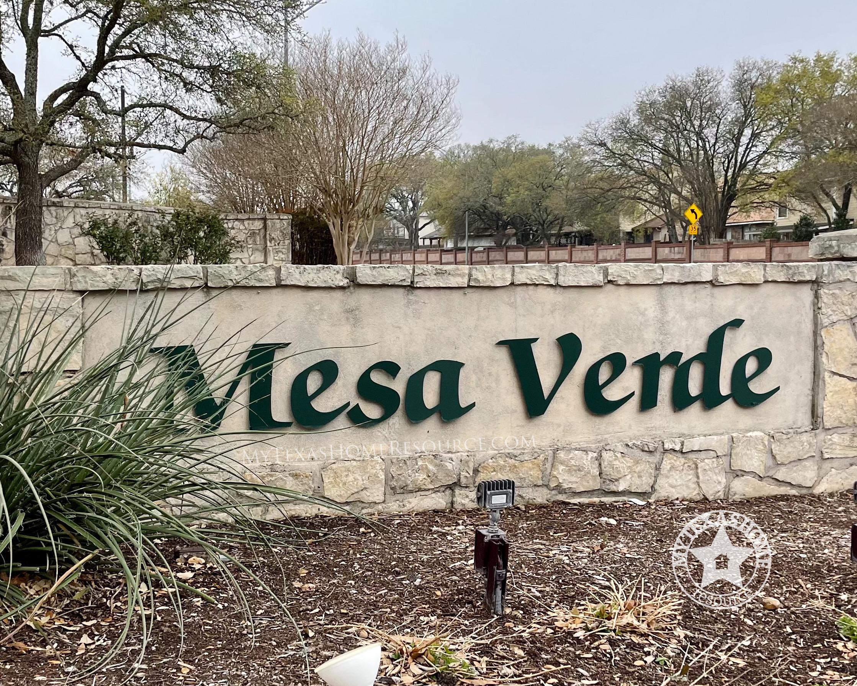 Mesa Verde Community San Antonio, TX