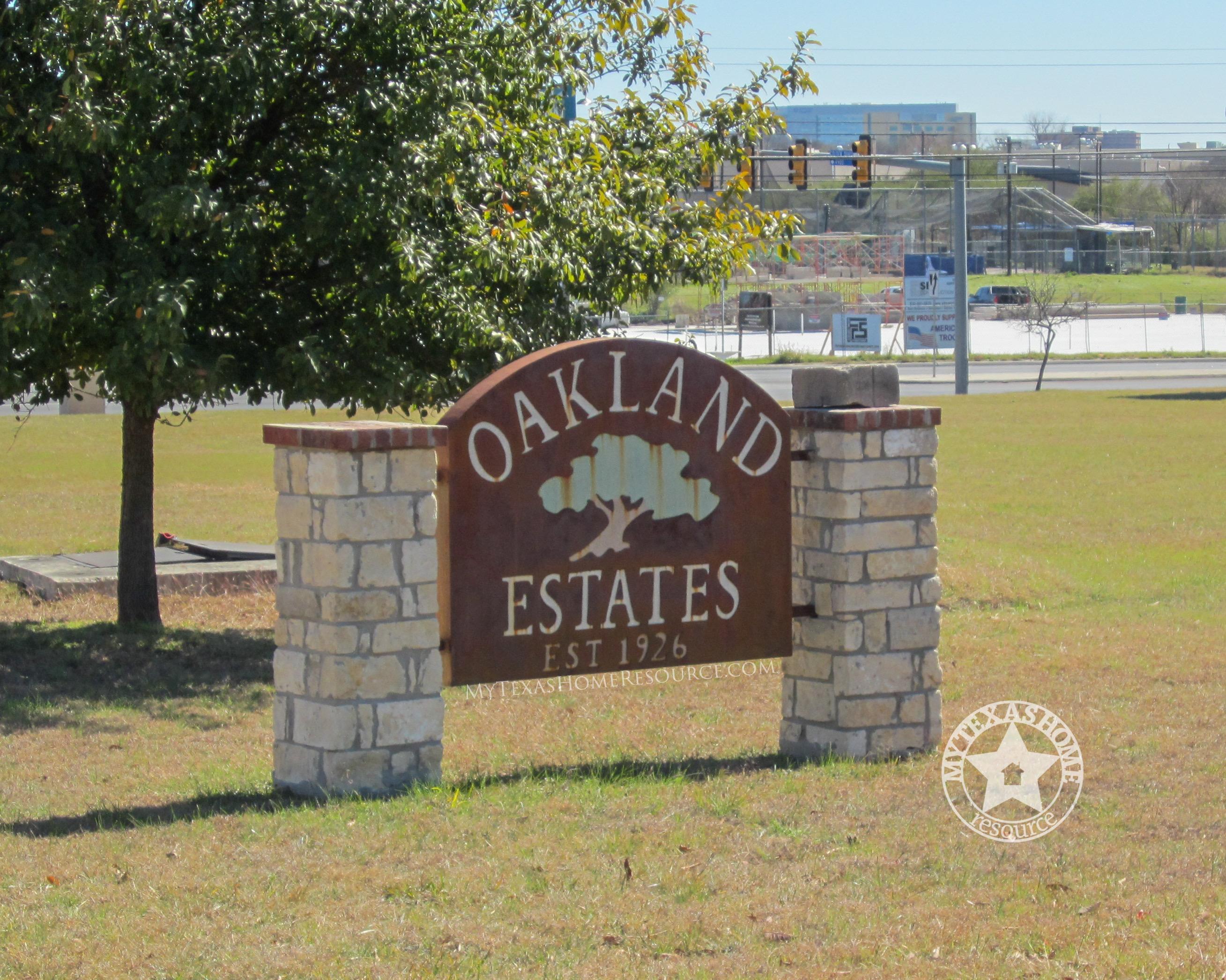 Oakland Estates Community San Antonio, TX