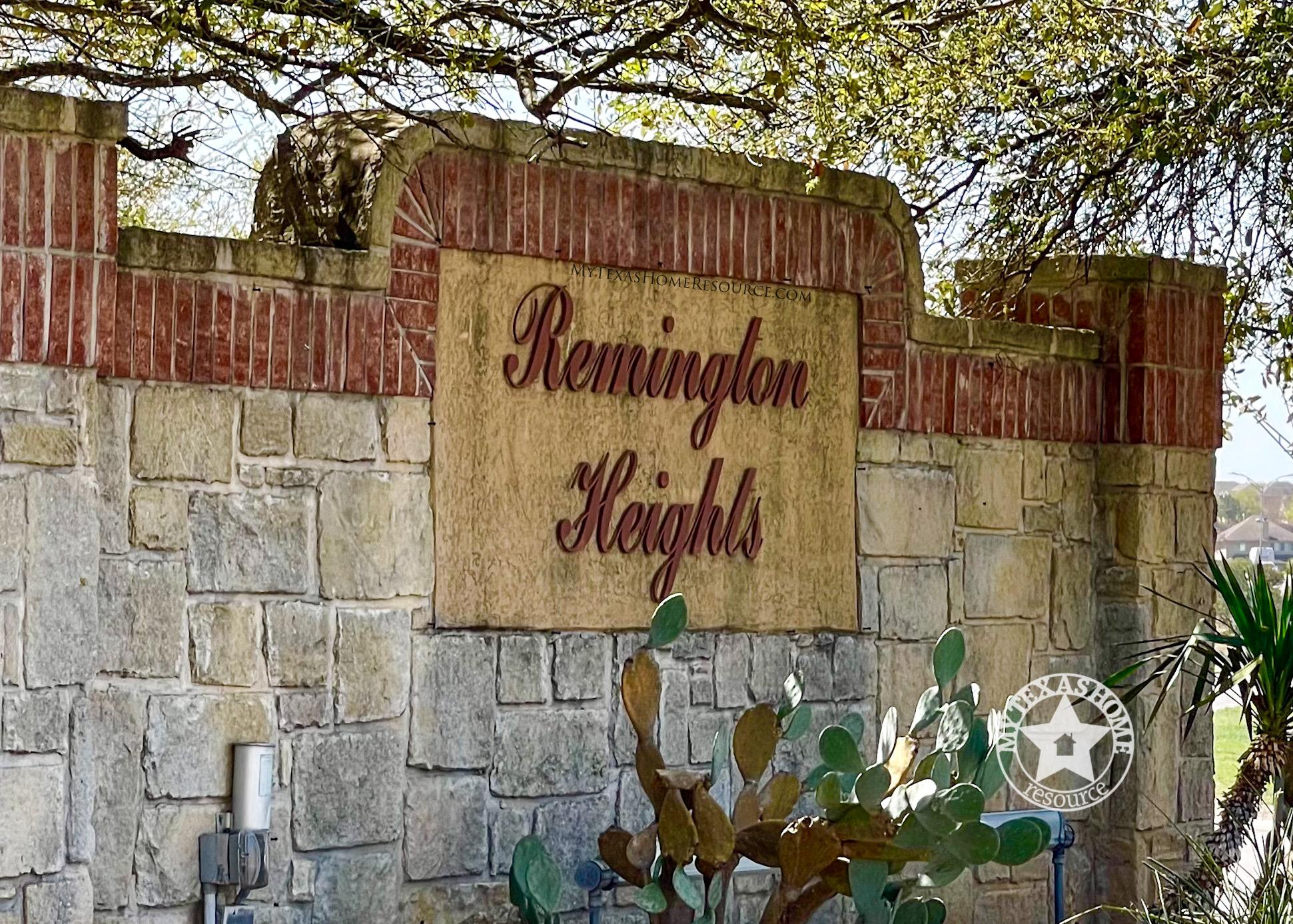 Remington Heights Community San Antonio, TX