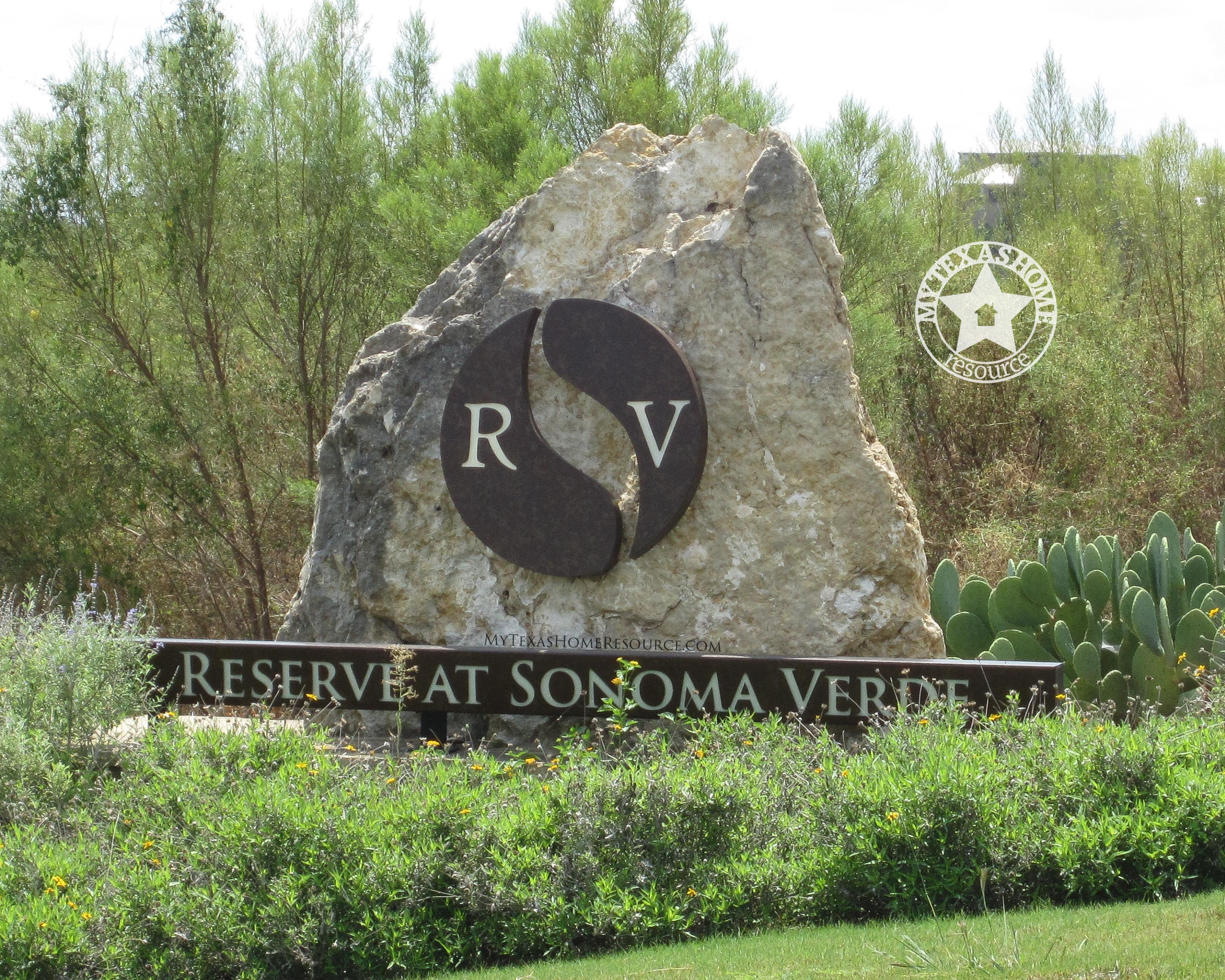 Reserve At Sonoma Verde Community San Antonio, TX