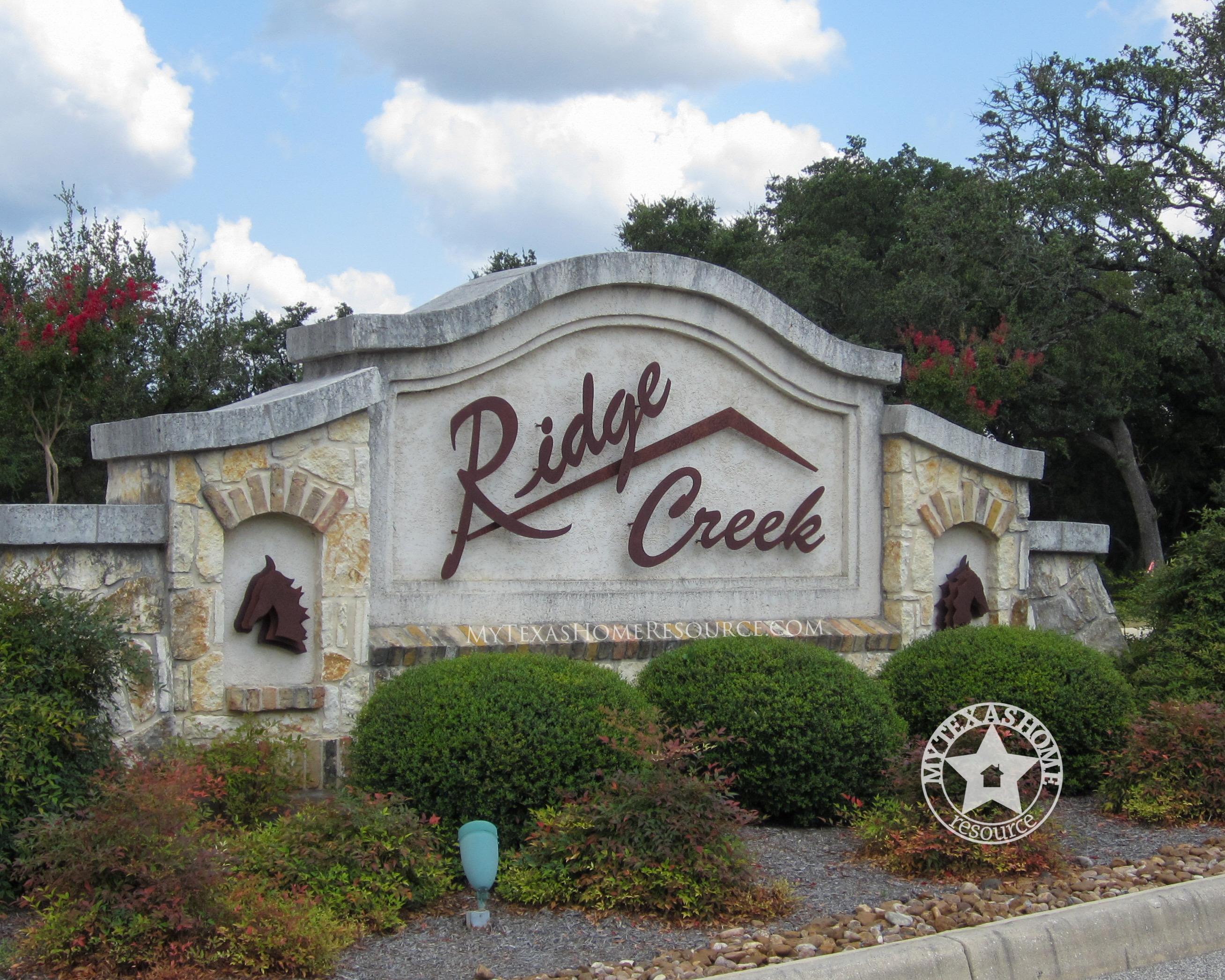 Ridge Creek Community San Antonio, TX