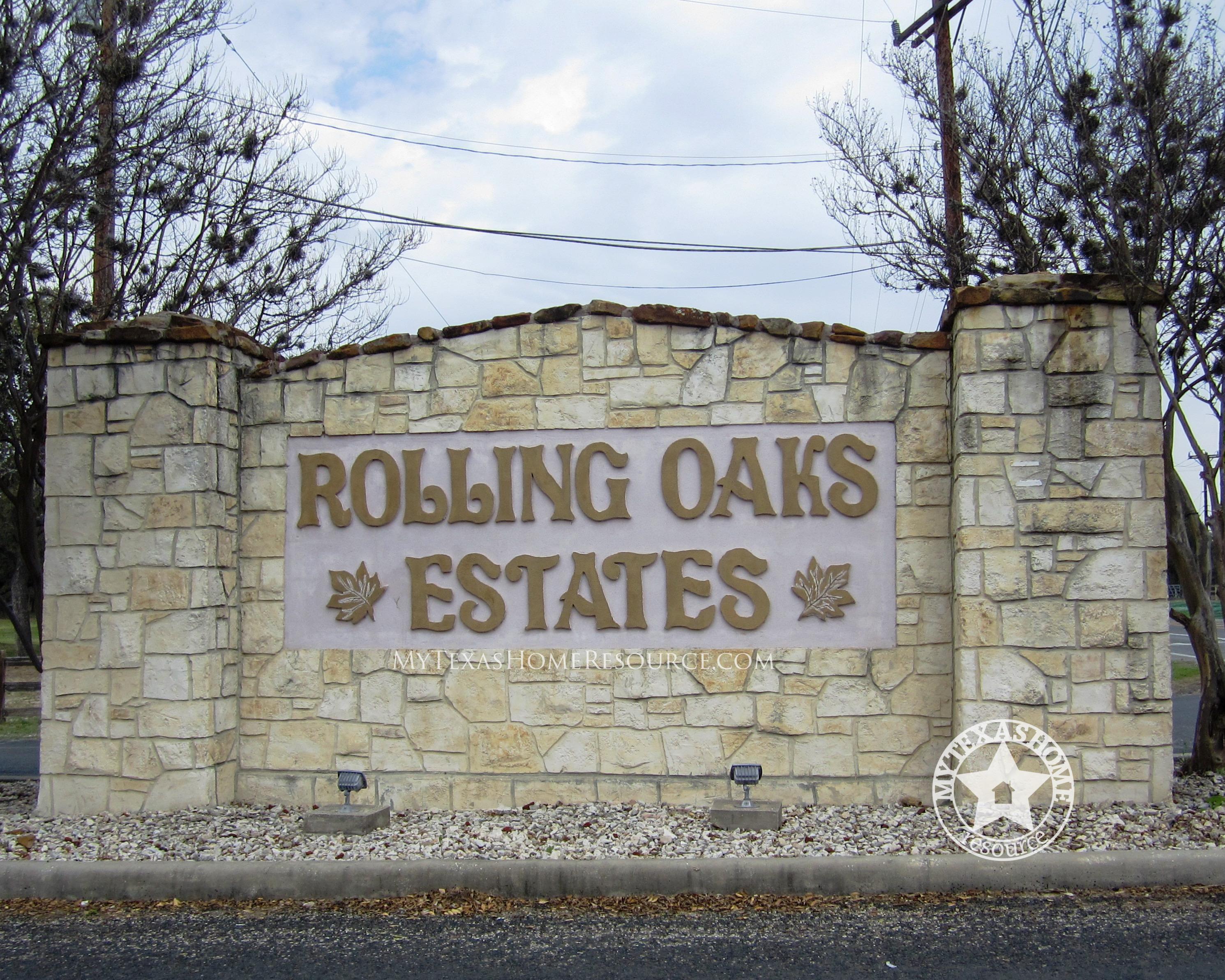 Rolling Oaks Estates Community San Antonio, TX