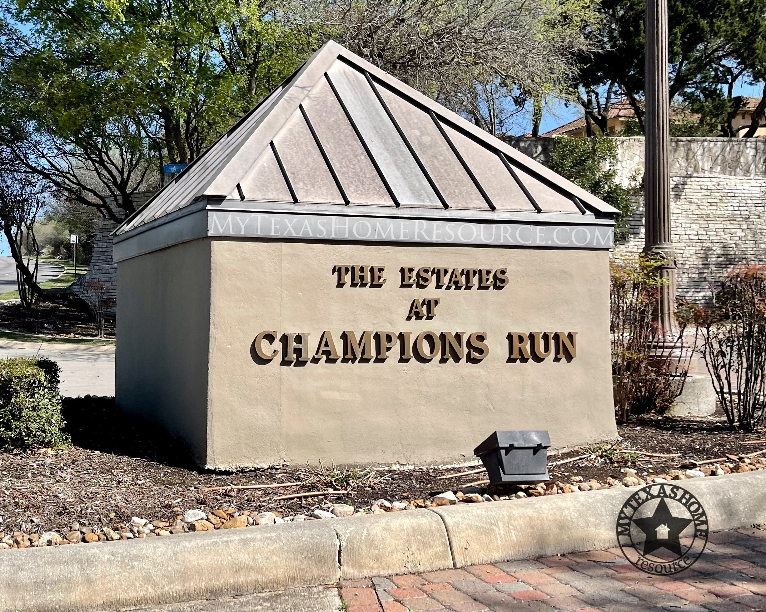 Estates at Champions Run Community San Antonio, TX