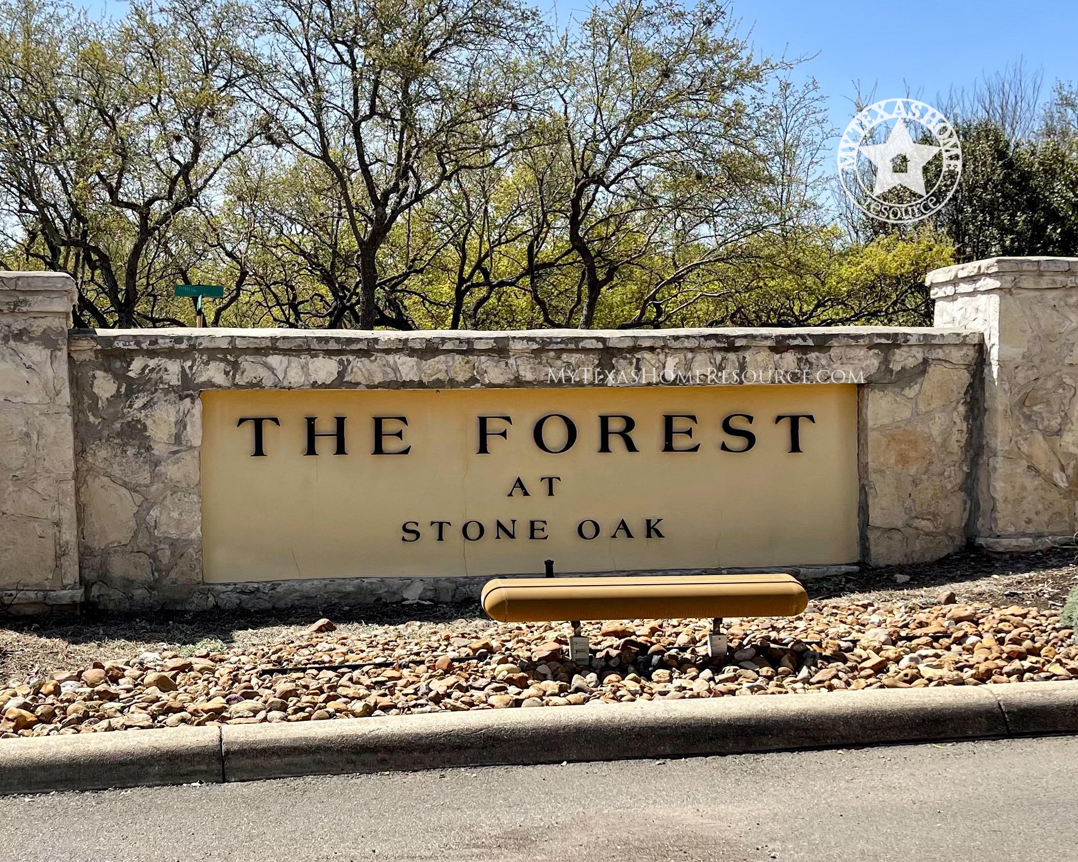 The Forest at Stone Oak Community San Antonio, TX