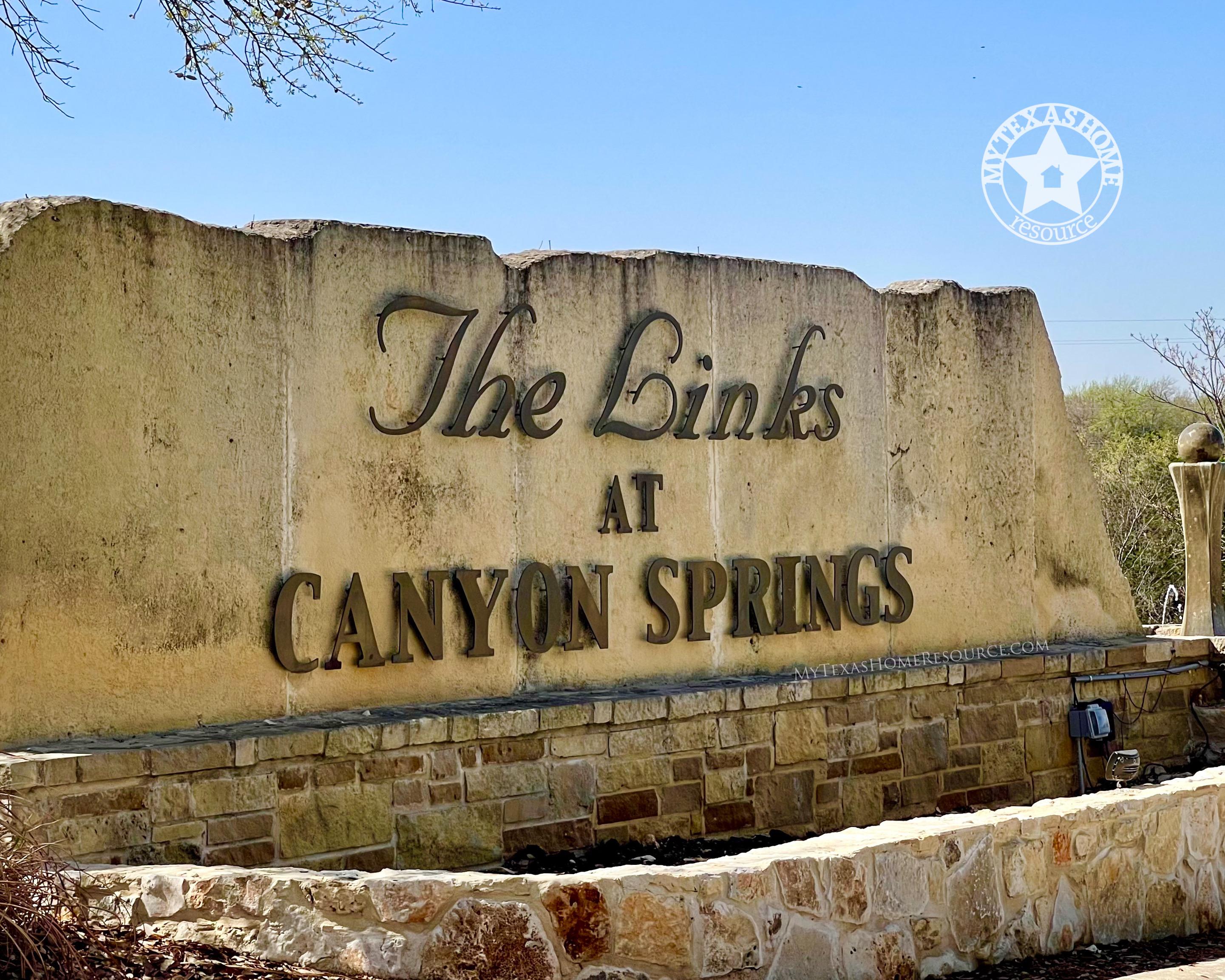 Links at Canyon Springs Community San Antonio, TX
