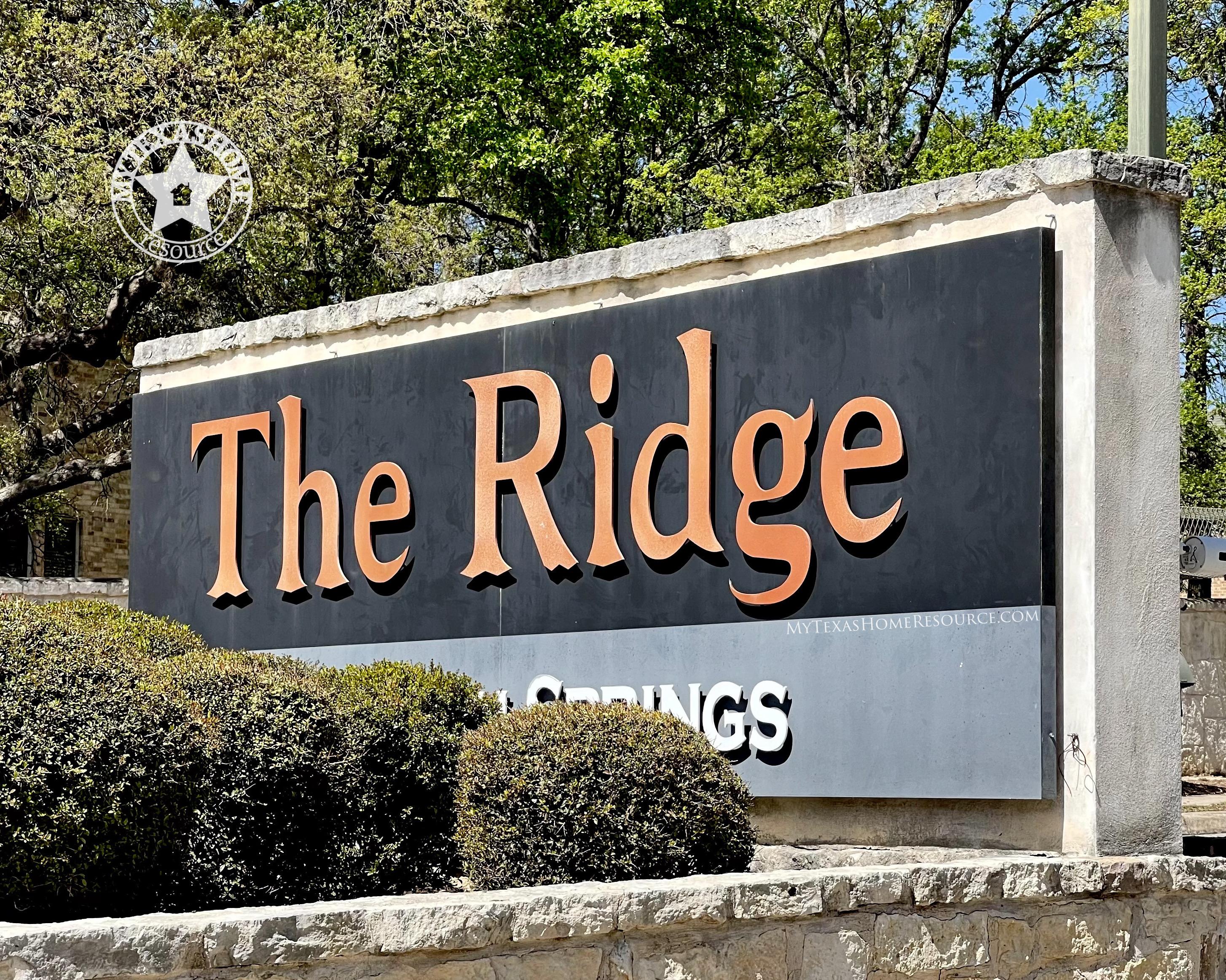 Ridge at Canyon Springs Community San Antonio, TX