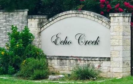 Echo Creek Subdivision San Antonio TX