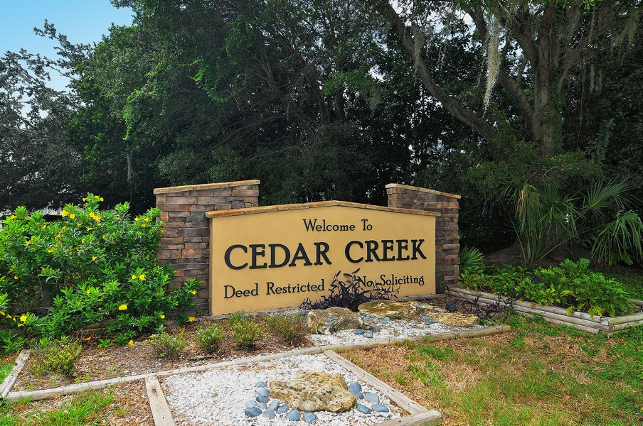 Cedar Creek homes Sarasota