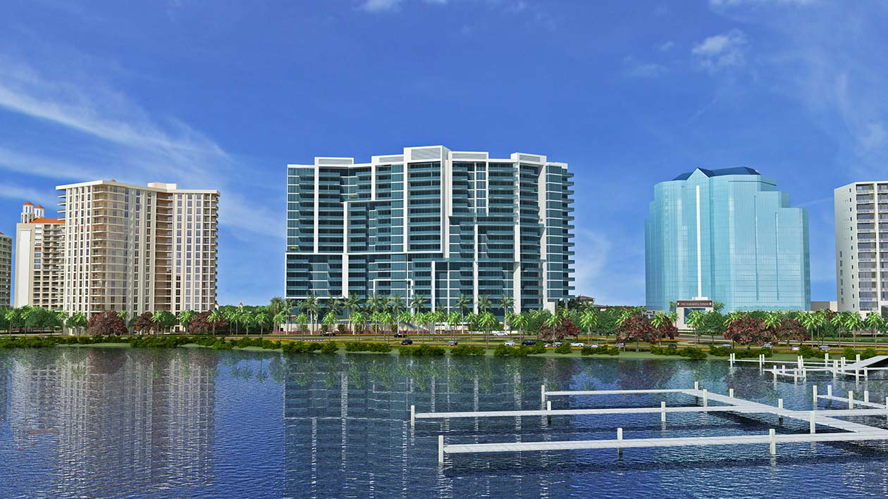 The Vue condos in Sarasota
