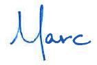 Marc Rasmussen signature