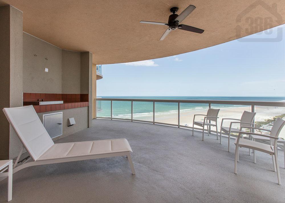 ocean villas 1005 balcony