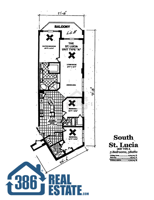 dimucci twin towers floor plan st lucia south
