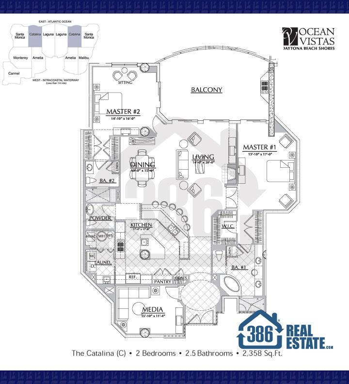 catalina floor plan