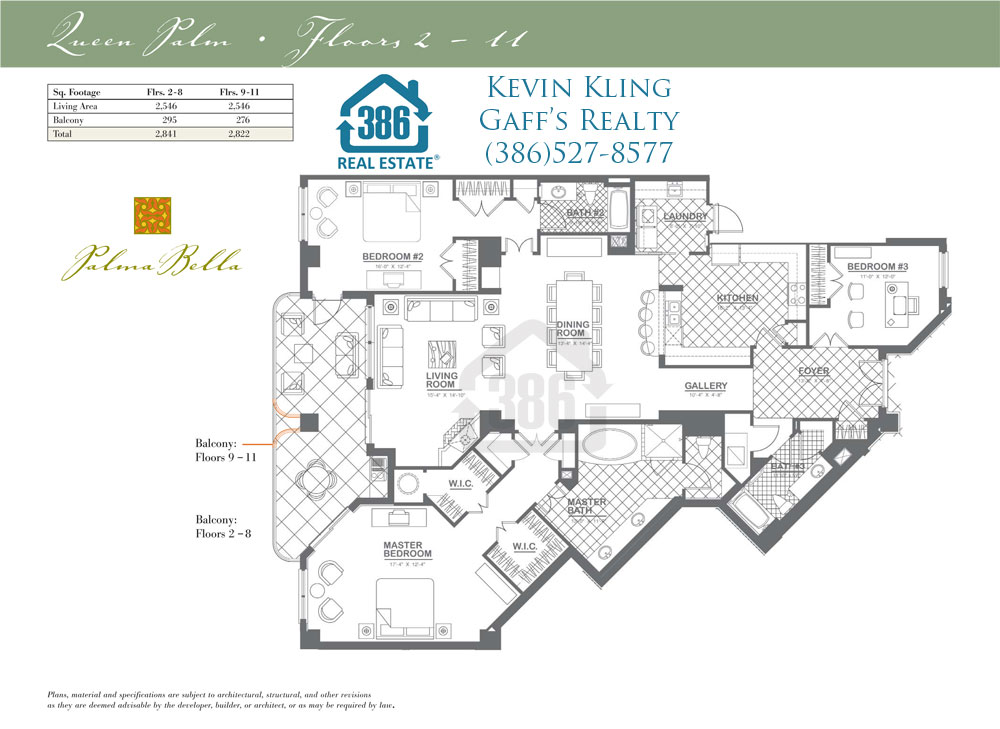 palma bella floor plan queen palm