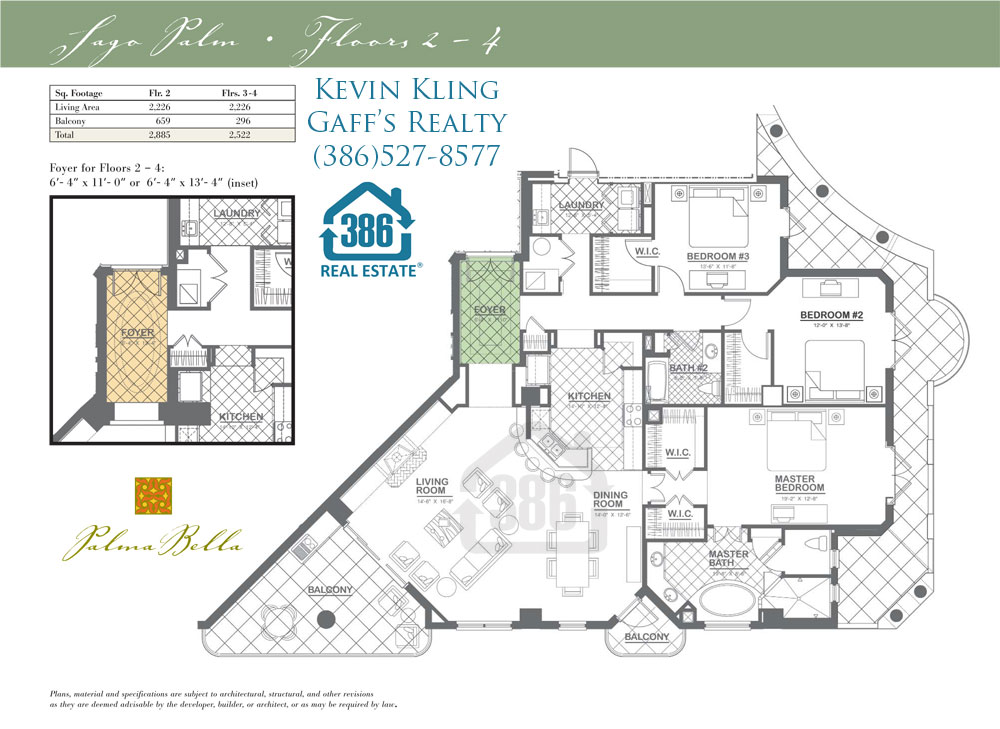 sago palm floor plan