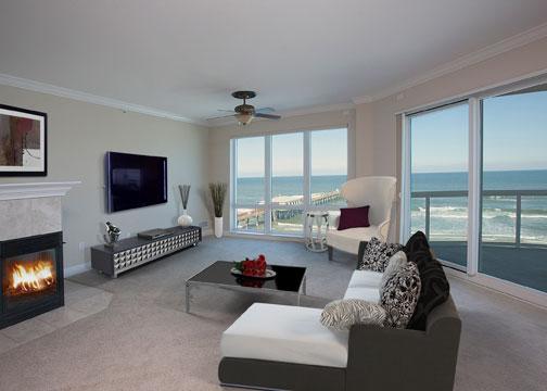 ocean villas 507 living room
