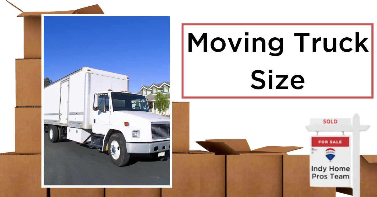 Moving Tips Moving Truck Rental Graphic reading rent the right size truck