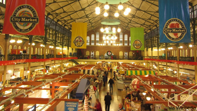 Things to Do In Indianapolis Spring City Market Picture of Shops Inside