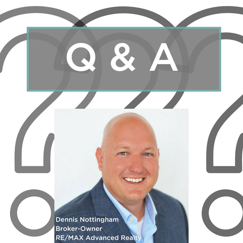 Q & A with Dennis Nottingham Graphic