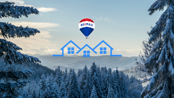 Winter Trees House Graphic Remax
