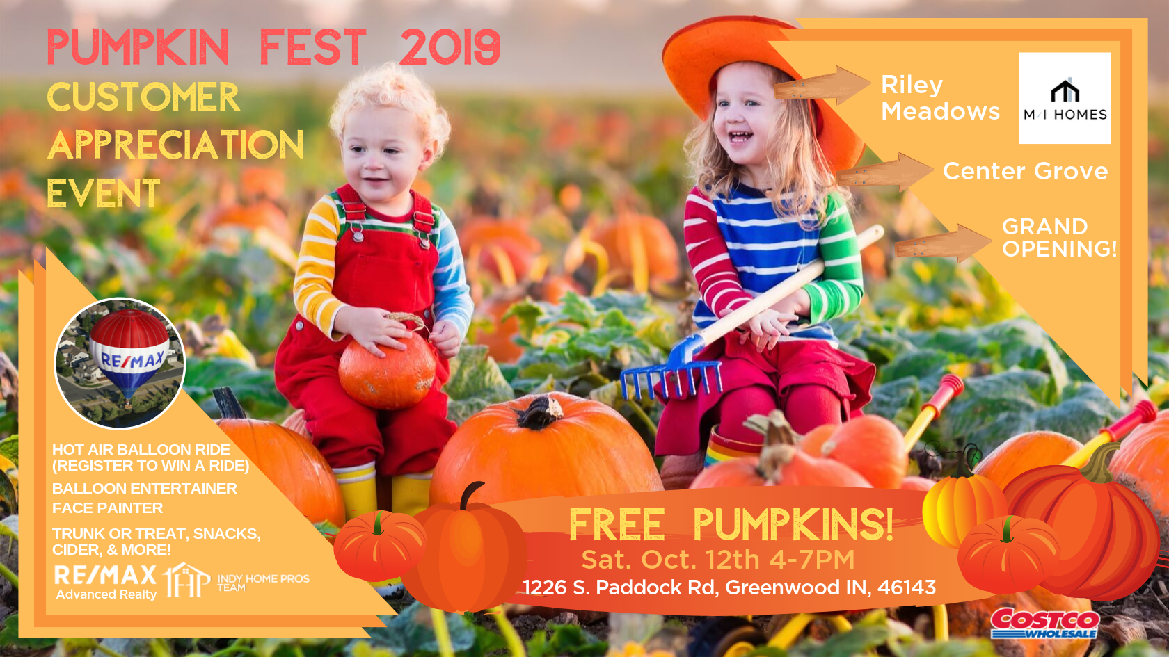 Pumpkin Fest 2019 Indy Home Pros Team REMAX
