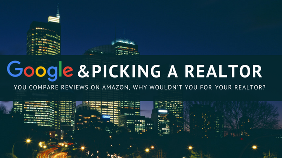 Google and Picking a Realtor, CityScape