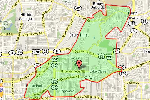 Zip Code 30307 Atlanta Real Estate Homes For Sale In Zip Code 30307