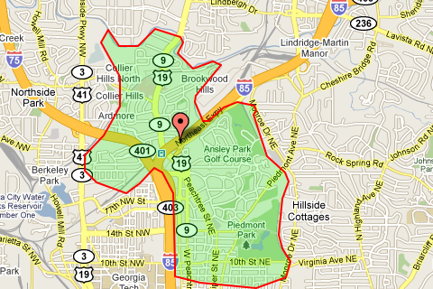 Buckhead Zip Code Map.Zip Code 30309 Atlanta Real Estate Homes Condos For Sale In Zip
