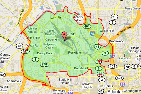 map of atlanta zip codes Zip Code 30318 Atlanta Real Estate Homes For Sale In Zip Code 30318 map of atlanta zip codes