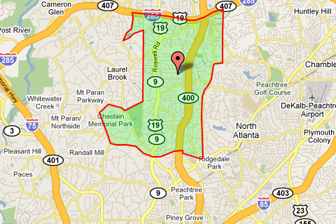 Buckhead Zip Code Map.Zip Code 30342 Atlanta Real Estate Homes For Sale In Zip Code 30342