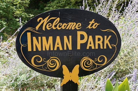 Inman Park neighborhood in Intown Atlanta
