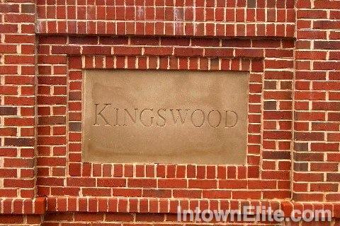 Kingswood neighborhood entrance