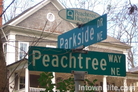 Peachtree Heights real estate