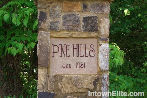Pine Hills Atlanta homes for sale