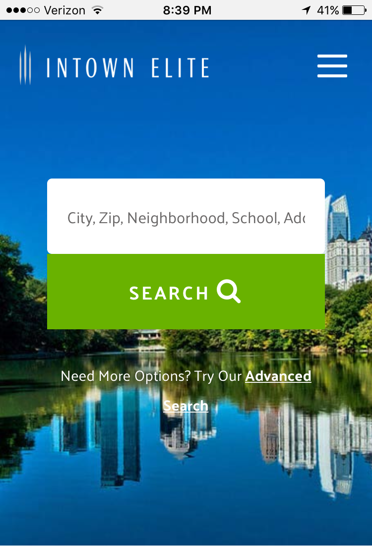 Atlanta Mobile MLS Search App