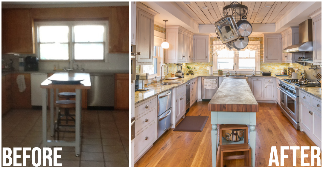 Myrtle Beach Kitchen Remodel Before and After