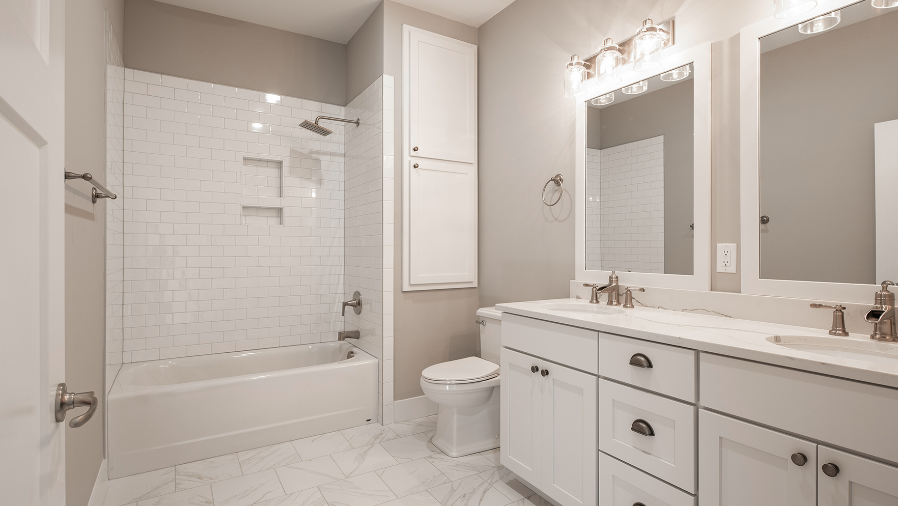 Give Bathrooms a Cosmetic Face-Lift