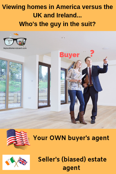 American home buyers have their own Realtor representing them