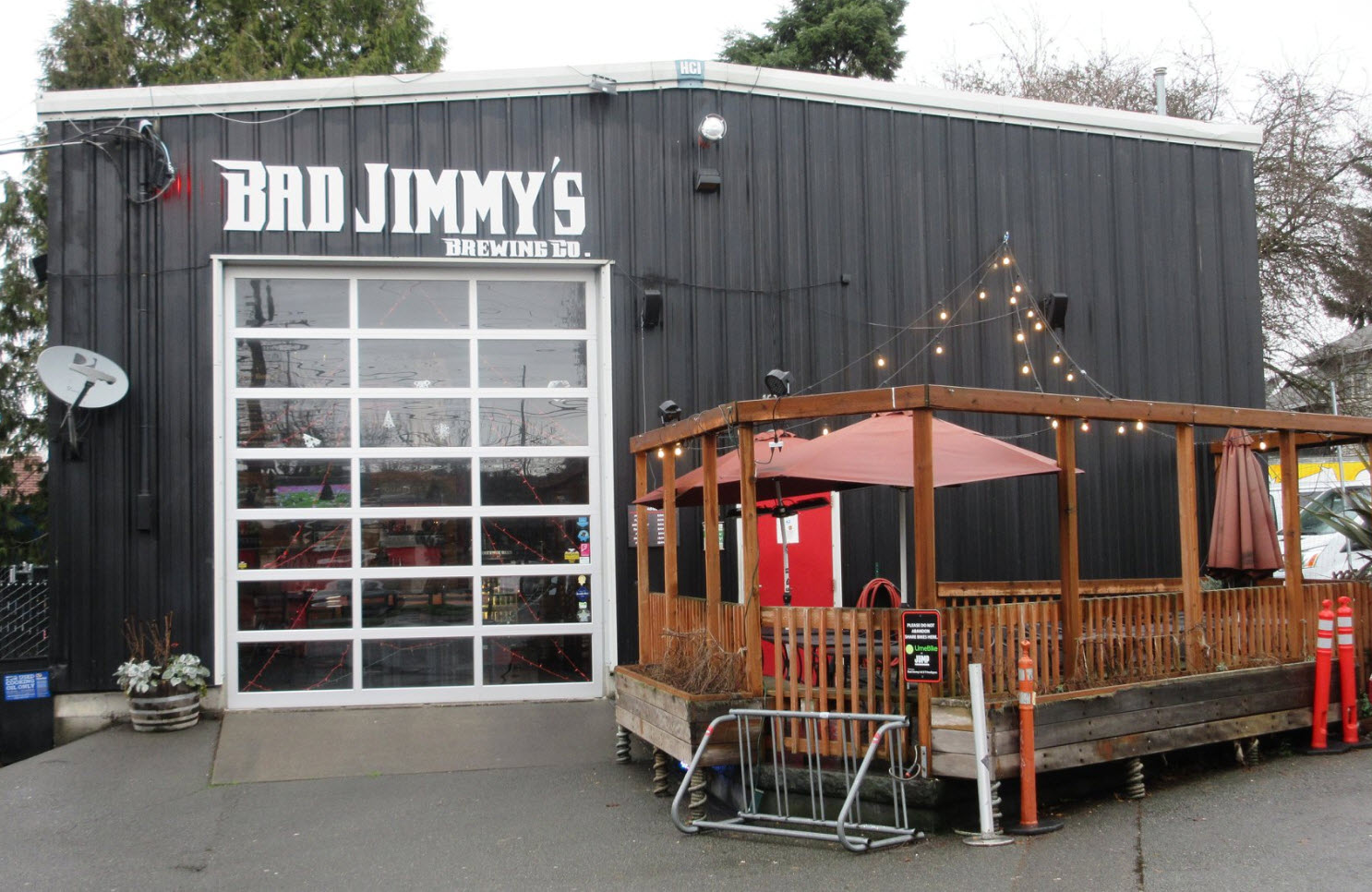 Bad Jimmy's Brewing in Ballard Seatle