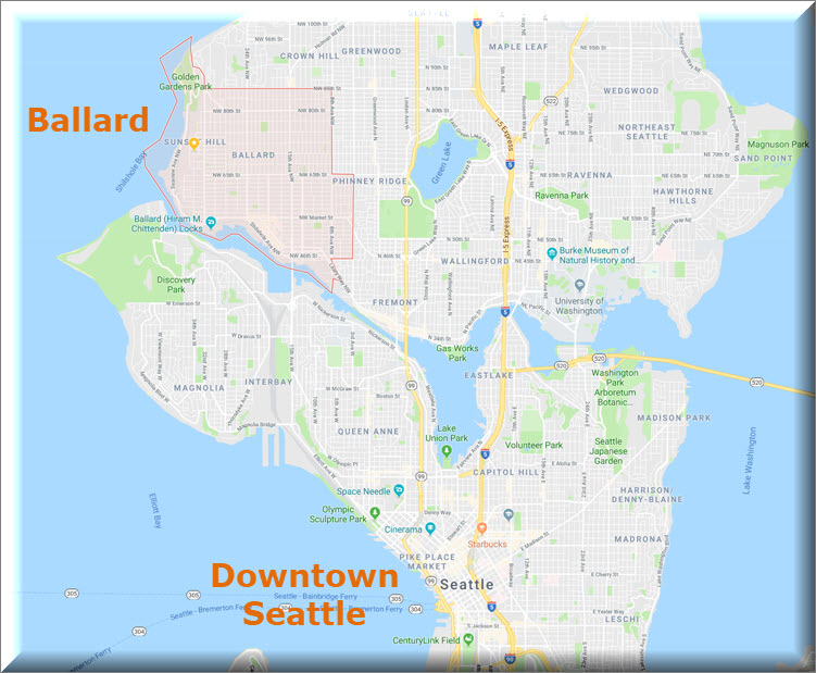 Guide to Ballard Seattle