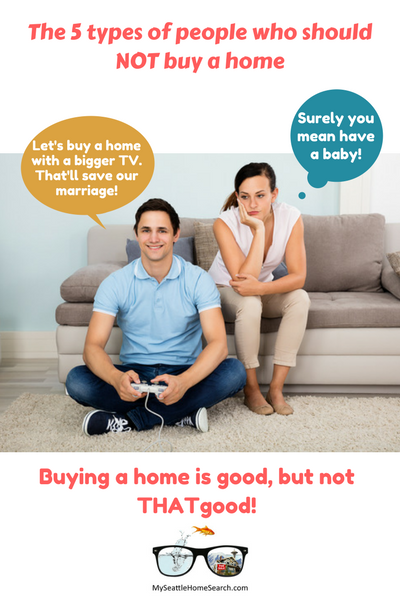 Buying a home probably won't save your marriage