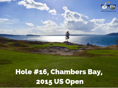 Chambers Bay golf course near Seattle