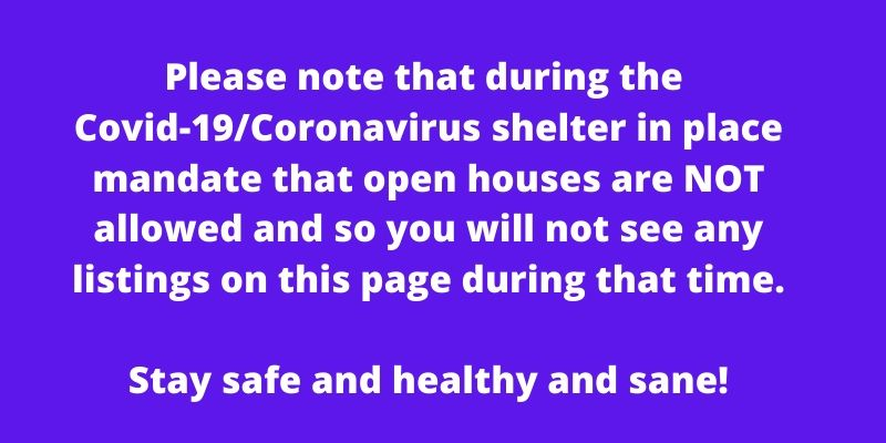 No Seattle open houses during Corona virus shut down