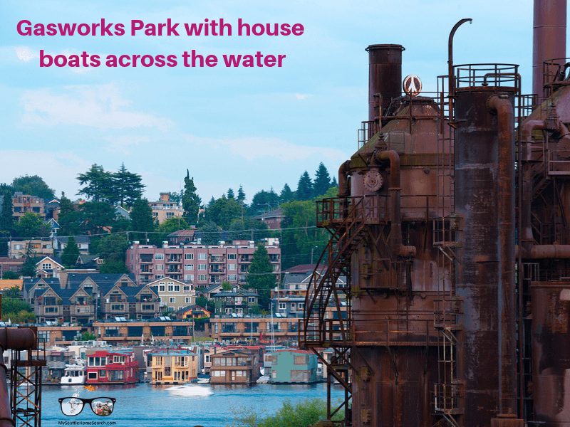 Gasworks Park in Seattle