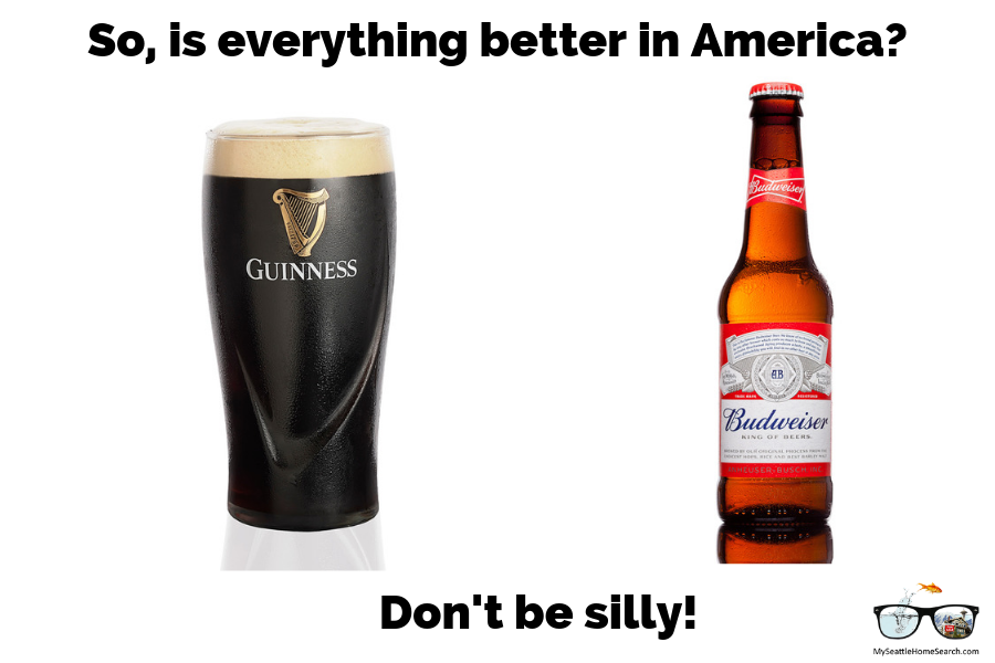 Is everything better in America